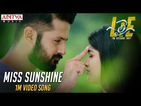 Xxx Mp4 Miss Sunshine 1Min Video Song LIE Movie Nithiin Arjun Megha Akash Hanu Raghavapudi 3gp Sex
