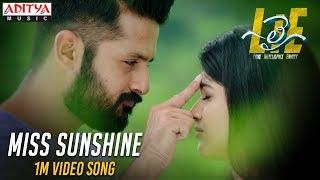 Miss Sunshine 1Min Video Song - #LIE Movie - Nithiin, Arjun, Megha Akash   Hanu Raghavapudi