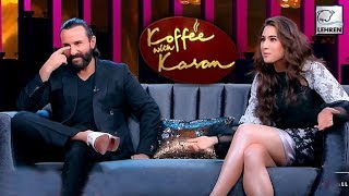 Koffee With Karan 6: 5 SECRETS Revealed By Sara Ali Khan & Saif Ali Khan   LehrenTV