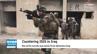 Iraqi forces discover, destroy 11 Daesh cross-border tunnels into eastern Syria