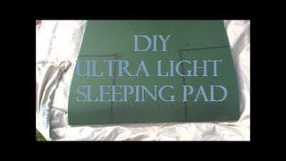 DIY Hammock Sleep Pad Ultra Light