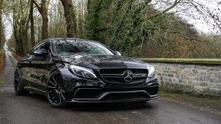 This 600bhp Mercedes C63 AMG is a BEAST!