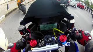 Yamaha R15 #ขับรถไปดูน้องมันสักซักหน่อย(ยกซะเกือบหงาย)