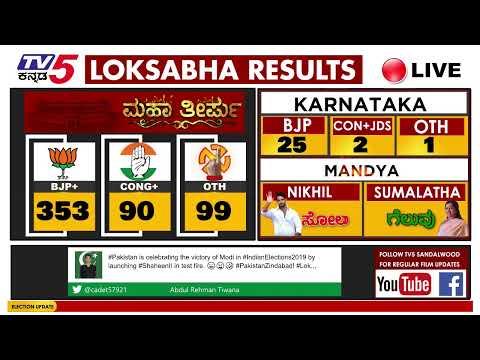 Xxx Mp4 Election Results 2019 LIVE Karnataka Mandya India Electionresult2019 3gp Sex