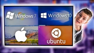 Four Operating Systems on ONE Monitor