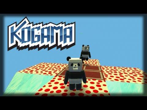 Jogando Kogama Pandas Gordos