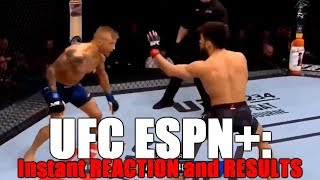 UFC Fight Night Brooklyn: Reaction and Results