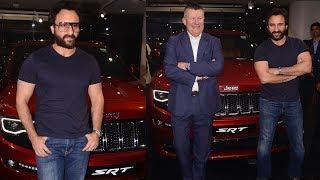 Saif Ali Khan With His New Car | JEEP Cherokee SRT