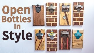 Magnetic Bottle Opener Boards