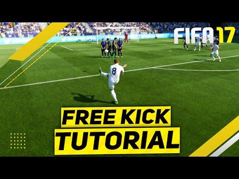 FIFA 17 FREE KICK TUTORIAL - NEW FREE KICKS TUTORIAL - THE SPECIAL TRIVELA FREE KICK