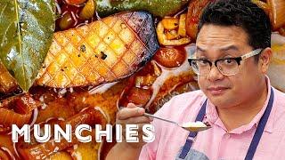 How To Make Filipino Mushroom Adobo with Dale Talde