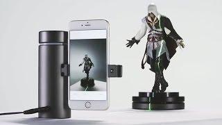 اول ماسح ضوئي  ثلاثي الابعاد عالي الدقة  على هاتفك الذكي