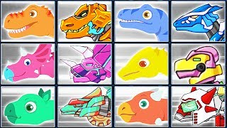Dig Jurassic + Dino Robot Corps | Eftsei Gaming