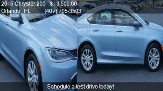 2015 Chrysler 200 Limited 4dr Sedan for sale in Orlando, FL