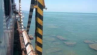 Pamban Bridge | Dangerous Railway Bridge | Rameswaram | Train over the Sea