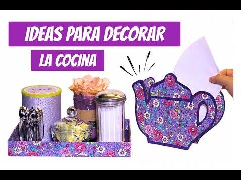 3 ideas para decorar su Cocina con materiales de reciclaje