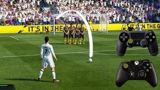 Fifa 17 Free Kick Tutorial | Xbox & Playstation | HD