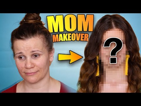 Xxx Mp4 I GAVE MY MOM A MAKEOVER Full Face Makeup Hair Outfit 3gp Sex