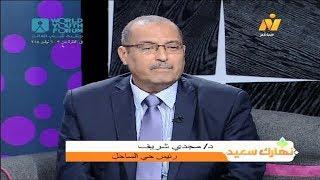 لقاء مع د/مجدي شريف رئيس حي الساحل والحديث عن دور المحليات .. برنامج نهارك سعيد