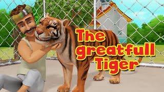 The Grateful Tiger | Moral Stories for Kids in English | Infobells