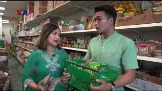 VOA Dunia Kita: Belanja Kebutuhan Ramadan di Supermarket Indonesia (1)