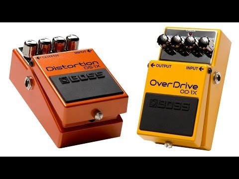 OD 1X Overdrive and DS 1X Distortion Pedal Demo Sweetwater Guitars and Gear Vol. 63