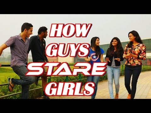 5 Types : How Guys Stare at Girls || Indian Style