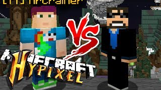 SSUNDEE VS CRAINER: PLAYING MINECRAFT MINI-GAMES ON HYPIXEL TO SEE WHO IS BETTER!!