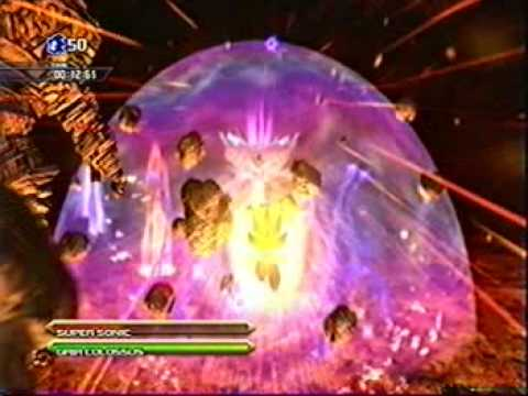 Sonic Unleashed Final Boss Perfect Dark Gaia Xbox 360 2 2