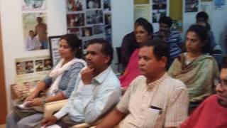 Prem ji on various projects of Navabharatha Trust