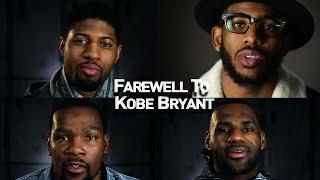 Farewell to Kobe Bryant