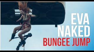 A naked girl Eva did bungee jumping, Kekars, episode 2