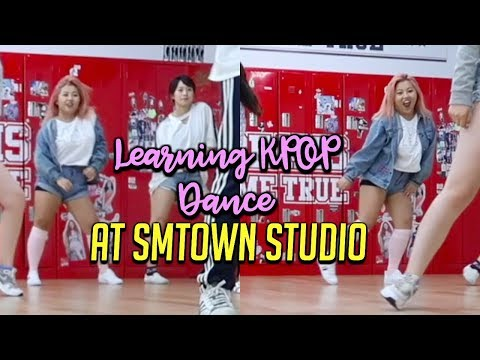 LEARNING KPOP AT SMTOWN STUDIO!