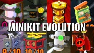 All Minikits in Lego videogames! (2005 - 2018)