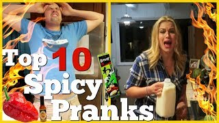 WORLD'S HOTTEST PEPPERS PRANKS - Pranksters In Love 2018