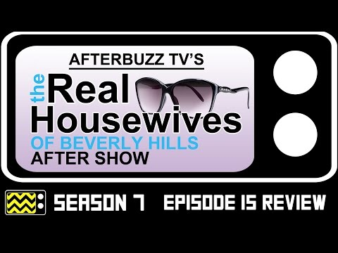 Real Housewives Of Beverly Hills Season 7 Episode 15 Review & After Show | AfterBuzz TV