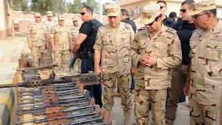 سر غياب وزير الدفاع عن زيارة الرئيس السيسي إلى سيناء | صدى البلد
