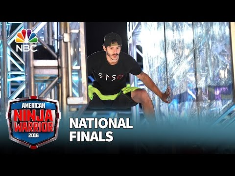 Flip Rodriguez at the National Finals Stage 1 American Ninja Warrior 2016