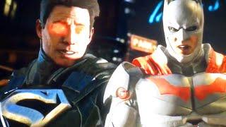 Injustice 2: NEW Gameplay Atrocitus Full Super Move & Batman v Superman Intro Dialogue!