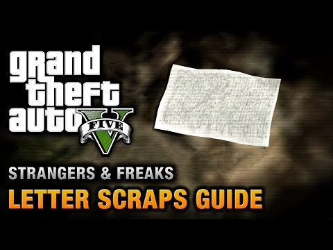 GTA 5 - Letter Scraps Location Guide [A Mystery, Solved Achievement / Trophy]