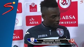 Mohammed Anas thanks 'wife and girlfriend' (full interview)
