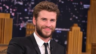 Liam Hemsworth Talks Starting A Family With Miley & Plays Slip & Flip With Fallon