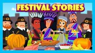 Festival Stories - Why We Celebrate?|| Kids Hut Stories- English Animated Stories||Story Compilation