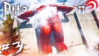 IL GIGANTE COLOSSALE È TORNATO!!! - Attack On Titan 2 PS4 ITA #3