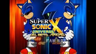 Super Sonic X Universe EL RETO MAXIMO TRIBUTO