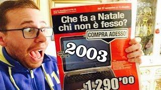 Old Tech! Tecnologia dal Passato! - Volantino MediaWorld del 2003! - ITA