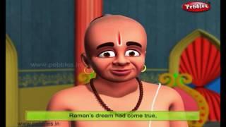 Test of Raman | Moral Stories of Tenali Raman For Kids | 3D Tenali Raman Stories in English