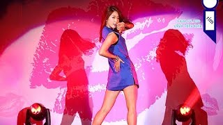 park shin hye dancing on Indian Song