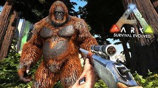 ARK: Survival Evolved -  FINDING BIGFOOT!! (ARK Ragnarok Gameplay)