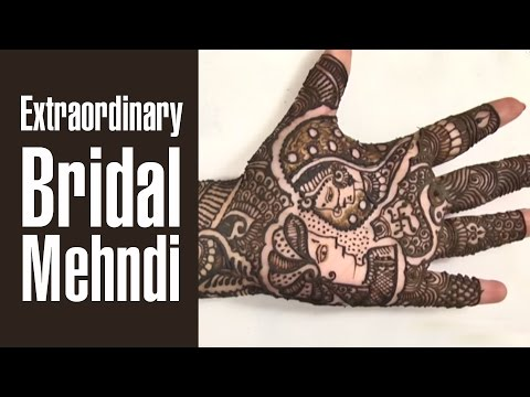 Dulha Dulhan BRIDAL MEHNDI DESIGN For Wedding's 2016